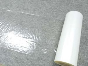 Protective film carpet