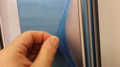Protective film aluminio 4