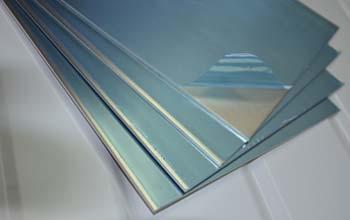 Protective film aluminio